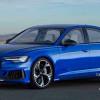 Седан Audi RS6 нового поколения на неофициальном рендере