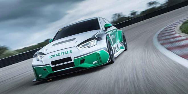Из седана Audi RS3 сделали гоночный электромобиль