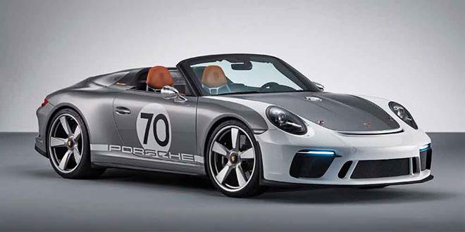 Porsche 911 Speedster Concept в честь 70-летия компании