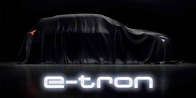 Электромобиль Audi E-Tron официально покажут 17 сентября