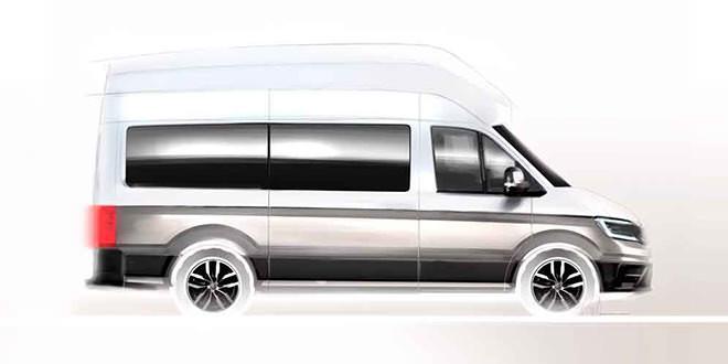 Новый кемпер Volkswagen покажут этим летом, первые тирезы