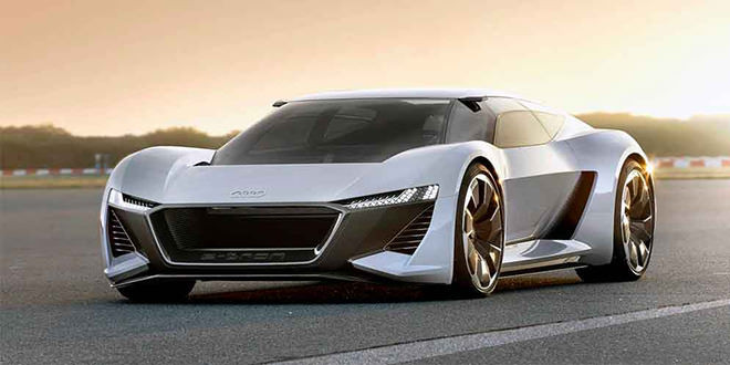 Представлен электро-суперкар Audi PB18 Concept