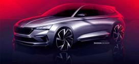 Skoda Vision RS показал дизайн будущего хот-хэтча