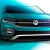 Серийный Volkswagen T-Cross на новых тизерах