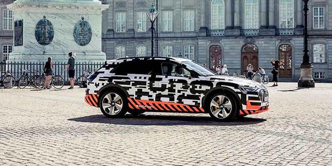 Производство электромобиля Audi E-Tron уже началось