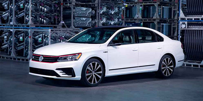 Американский VW Passat B8 сократили до двух версий
