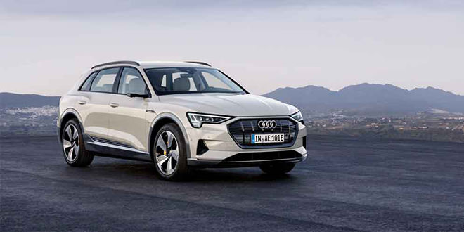 Audi e-tron — первый электро-кроссовер марки официально