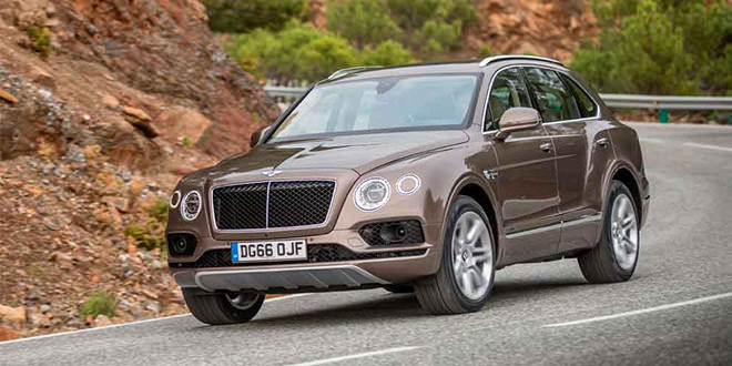 Дизельный Bentley Bentayga покидает рынок Европы