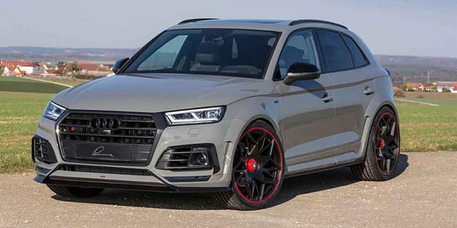 Новый тюнинг Audi SQ5 добавил обвес от Lumma Design