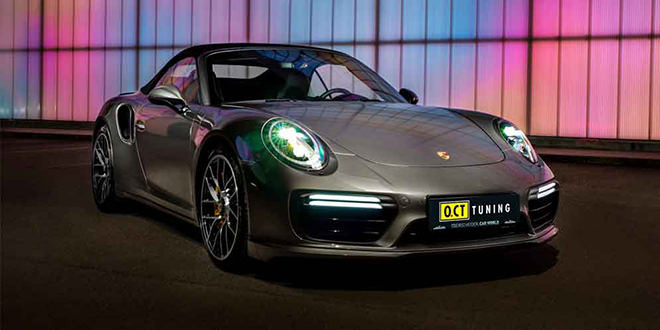 Тюнинг Porsche 911 Turbo S от O.CT: мощность 660 л.с.