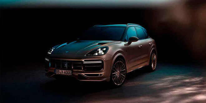 Новый Porsche Cayenne Turbo получил тюнинг от TechArt