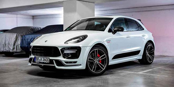 TechArt сделал для Porsche Macan пакеты Sport и Sport+