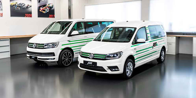 ABT Sportsline сделал электромобили e-Caddy и e-Transporter
