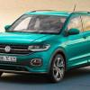 Volkswagen выкатил самый маленький кроссовер T-Cross