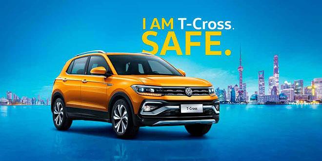 Китайский Volkswagen T-Cross оказался похожим на Tiguan