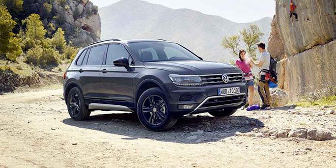 Новый Volkswagen Tiguan Offroad показан в Европе