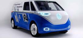 Volkswagen I.D. Buzz Cargo превратили в сервисный фургон