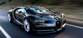 Bugatti Chiron разогнали до максимальной скорости 421,16 км/ч