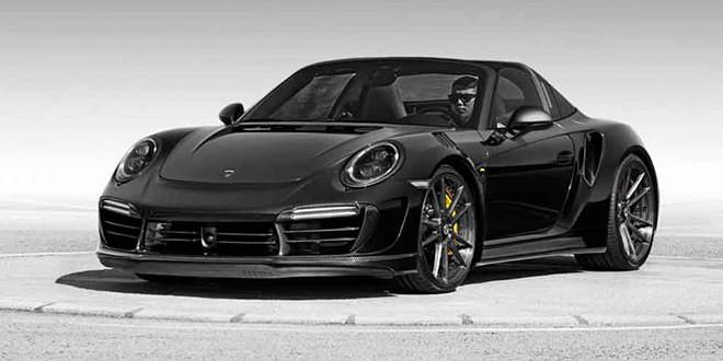 Porsche 911 Targa примерила обвес Stinger GTR от TopCar