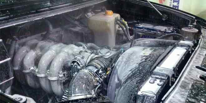 Зачем нужна профессиональная мойка двигателя