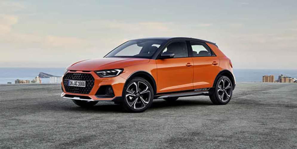 Audi A1 citycarver — самый маленький кроссовер марки