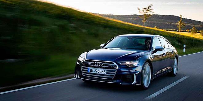 Новая Audi S6 вышла с бензиновым турбодвигателем