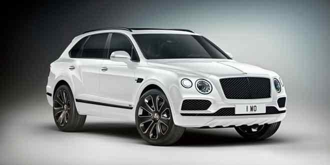 Представлен дизайнерский Bentley Bentayga V8 Design
