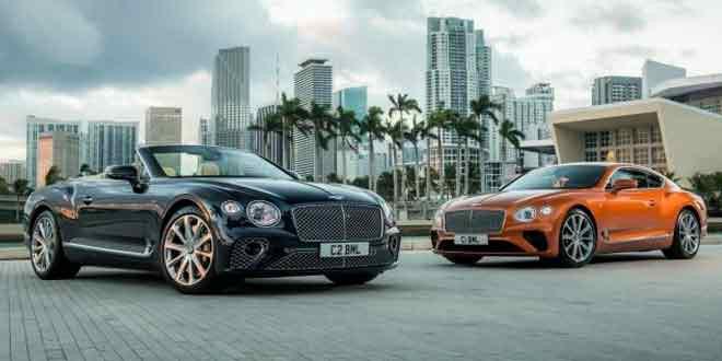 Купе и кабриолет Bentley Continental GT вышли в новых версиях