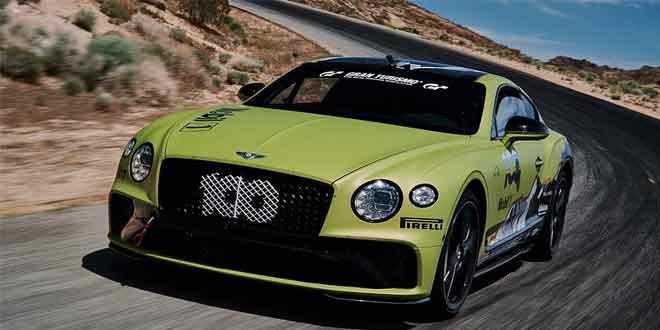 Bentley Continental GT установил новый рекорд горы Пайкс-Пик
