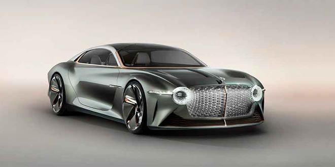 Bentley выкатила фантастический электро-концепт EXP 100 GT