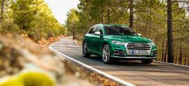 Спортивный кроссовер Audi SQ5 сделали гибридом
