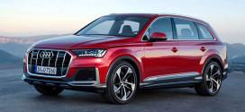 Долгожданное обновление кроссовера Audi Q7 в деталях