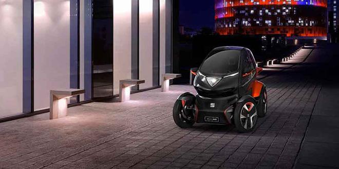 SEAT Minimó — электрический квадрицикл вместо ситикара
