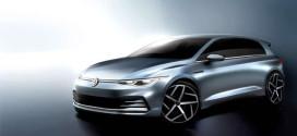 Новый Volkswagen Golf показали на первых эскизах