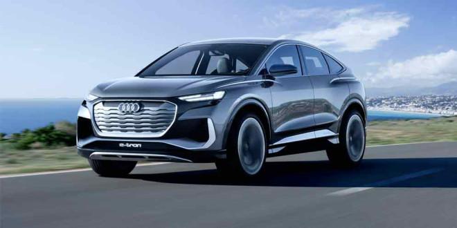 Audi Q4 Sportback E-Tron Concept — превью нового электрокроссовера