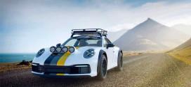 Новый Porsche 911 получил подготовку к Ралли Дакар от Delta4x4