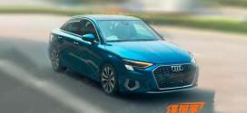 Для Китая готовят Audi A3L с длинной колесной базой