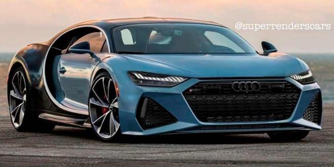 Фантазия на тему Audi RS7 по мотивам Bugatti Chiron