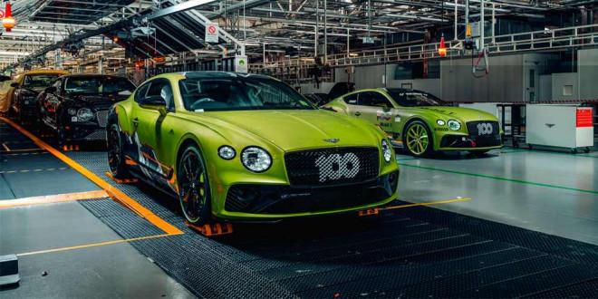 Первый из 15 Bentley Mulliner Pikes Peak Continental GT готов