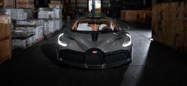 Первый экземпляр Bugatti Divo прибыл в США