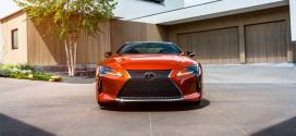Европеский Lexus LC Coupe 2021 года выходит в спецсерии