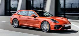 Porsche Panamera обновилась. Модель 2021 года официально