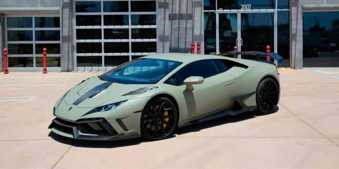 Lamborghini Huracan получил карбоновый обвес от Fusion Motor Company