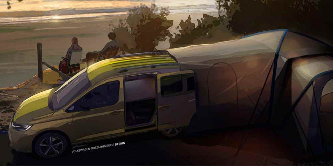 Volkswagen готовит крутой мини-кемпер из Caddy