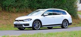 Новый Volkswagen Golf R Variant замечен на испытаниях