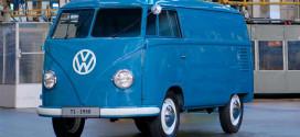 VW Transporter T1 1950 года — самый старый известный экземпляр
