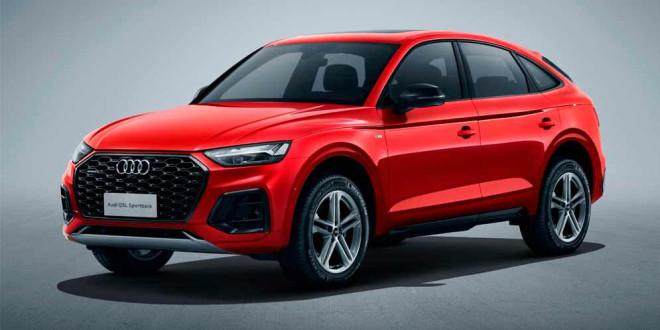 Длиннобазная Audi Q5L Sportback — эксклюзив для Китая