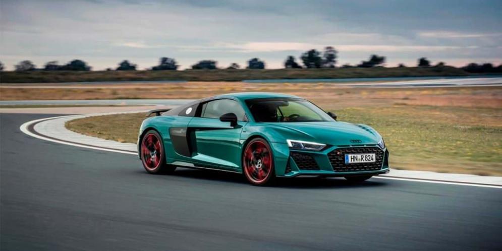 Спецверсия Audi R8 Green Hell посвящена успехам R8 LMS