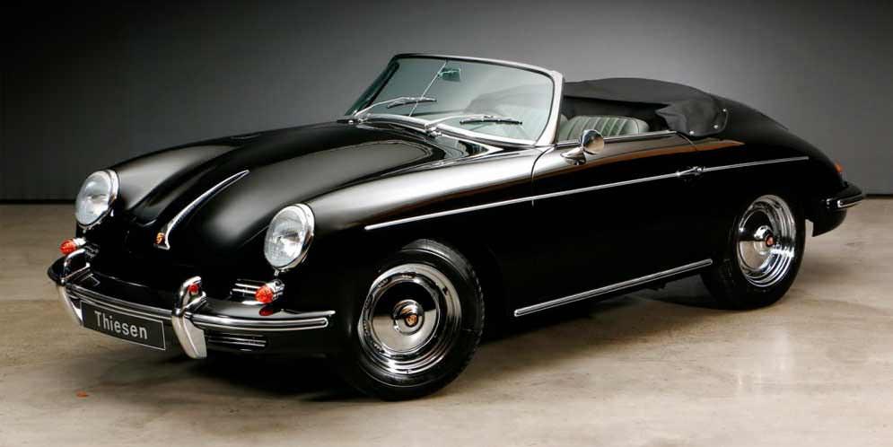 Porsche 356 B 1600 T6 1961 года — вневременная классика