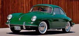 Porsche 356C Coupe 1965 г. в состоянии нового уйдет с молотка